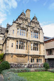 Trinity College In Oxford United Kingdom. A building of Trinity College in Oxford United Kingdom Stock Photography