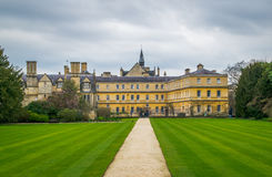 Trinity College, Oxford University (rear garden) Royalty Free Stock Photography