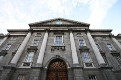 Trinity College, university in Dublin Royalty Free Stock Image