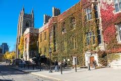 Trinity College at University of Toronto Royalty Free Stock Photos