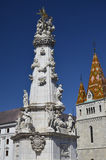 Trinity Column, Budapest. 3 Royalty Free Stock Photo