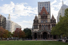 Trinity Episcopal Church Copley Square Royalty Free Stock Photos