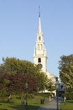 Trinity Episcopal Church located in founded in 1698, Newport, Rhode Island Stock Photo