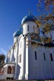trinity för st för sergius för klosterposadrussia sergiev Ryssland Arkivbilder