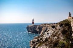 Trinity House Lighthouse, Europa Point, Gibraltar royalty free stock image