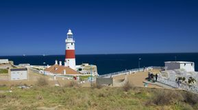 Trinity House Lighthouse in Gibraltar Point Europa stock photo