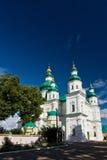 Trinity-Ilna Monastery of Chernihiv Stock Photography