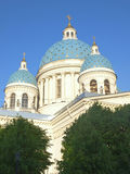 Trinity Izmailovo Cathedral, St. Petersburg, Russia Royalty Free Stock Photo