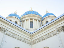 Trinity Izmailovo Cathedral, St. Petersburg, Russia Royalty Free Stock Photography