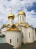 Trinity Lavra av St Sergius Arkivfoto