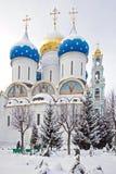 Trinity Lavra av St Sergius Arkivbild