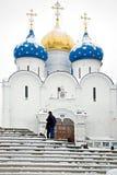 Trinity Lavra av St Sergius Arkivfoton