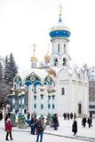 Trinity Lavra av St Sergius Royaltyfri Foto