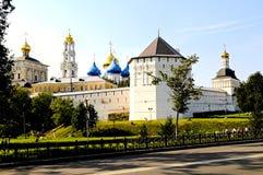 Trinity Lavra - Main Russian monastery Royalty Free Stock Image