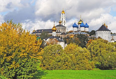 Trinity Lavra of Saint Sergius, Russia Stock Photography