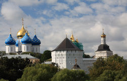 Trinity Lavra of Saint Sergius in Sergiev Posad Royalty Free Stock Images