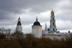 Trinity Lavra of St. Sergius Stock Images