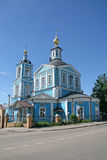 Trinity Lavra of St. Sergius - the largest Orthodox male monastery in Russia Stock Images