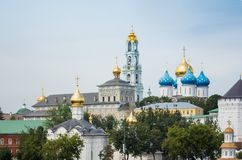 Trinity Lavra of St. Sergius Royalty Free Stock Photography