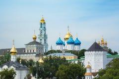 Trinity Lavra of St. Sergius Stock Photography