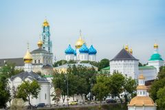 Trinity Lavra of St. Sergius Stock Photo