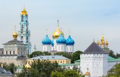 Trinity Lavra of St. Sergius Royalty Free Stock Images