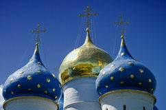 Trinity Lavra of St. Sergius in Sergiyev Posad Royalty Free Stock Photography