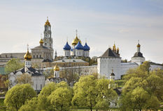 Trinity Lavra of St. Sergius in Sergiyev Posad. Russia Royalty Free Stock Photo