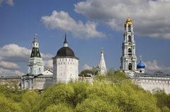 Trinity Lavra of St. Sergius in Sergiyev Posad. Russia Stock Photo