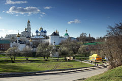 Trinity Lavra of St. Sergius, Sergiyev Posad, Russia Stock Images