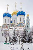 Trinity Lavra of St. Sergius Stock Photography