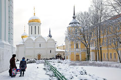 Trinity Lavra of St. Sergius Stock Photos