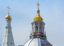 Trinity Lavra of St. Sergius Stock Images