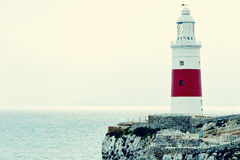Trinity Lighthouse in Gibraltar Stock Image