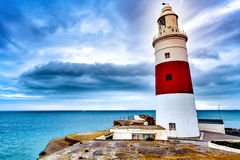 Trinity Lighthouse in Gibraltar Stock Photo