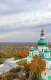 Trinity Monastery in Chernigiv, Ukraine. In the autumn Royalty Free Stock Images