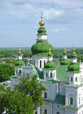 Trinity Monastery, Chernigov, Ukraine. View from the top Royalty Free Stock Photography