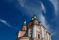 Trinity Monastery in Gustin Stock Photos