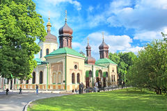 Trinity Monastery, Kyiv, Ukraine Stock Photography