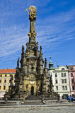 Trinity Monument Olomouc, Czech repuplic Royalty Free Stock Photo