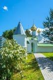 The Trinity-Sapanov Pakhomiev-Nerekhta convent, Russia. Stock Image