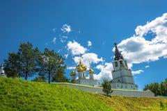 The Trinity-Sapanov Pakhomiev-Nerekhta convent, Russia. Stock Images