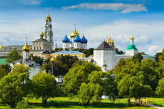 Trinity Sergius Lavra Royalty Free Stock Photos