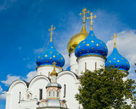 Trinity Sergius Lavra Royalty Free Stock Photo