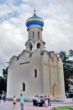 Trinity Sergius Lavra in Russia Stock Images