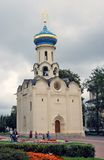 Trinity Sergius Lavra in Russia. Church of the Holy Spirit Stock Image