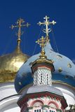 Trinity Sergius Lavra in Russia. Dormition church Royalty Free Stock Image