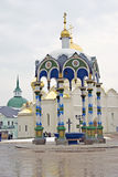 Trinity Sergius Lavra in Russia. Holy spring source Stock Photo