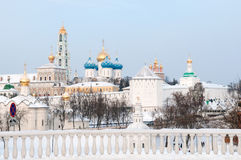 Trinity Sergius Lavra. Russia. Stock Photo