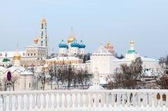 Trinity Sergius Lavra.Russia. Stock Photo
